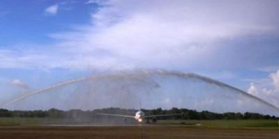 Llega a Puerto Plata primer vuelo de aerolínea Eurowings procedente Colonia