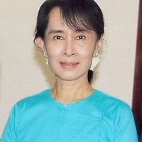 Pero la Junta Militar birmana no le dejó salir del país. Foto:Wikicommons