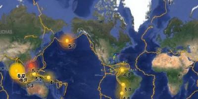 COE mantiene alerta amarilla en provincias mitad Este del país por lluvias