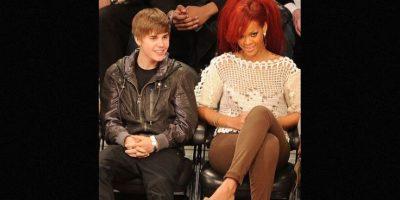 2. Justin publicó una foto de Rihanna que casi al instante la borró, lo cual puso en duda si este tenía un romance con ella e, incluso, muchos llegaron a decir que eso era una tremenda provocación a Selena Gómez. Foto:Getty Images