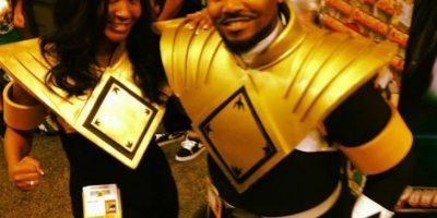 """En la actualidad, Jones visita diversas convenciones como el """"Ranger negro"""" Foto:Tumblr"""
