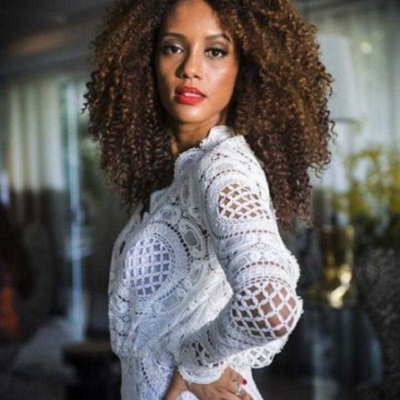 "Fue presentadora en el programa de belleza ""Superbonita"", de GNT. Foto:vía twitter.com/taisdeverdade"