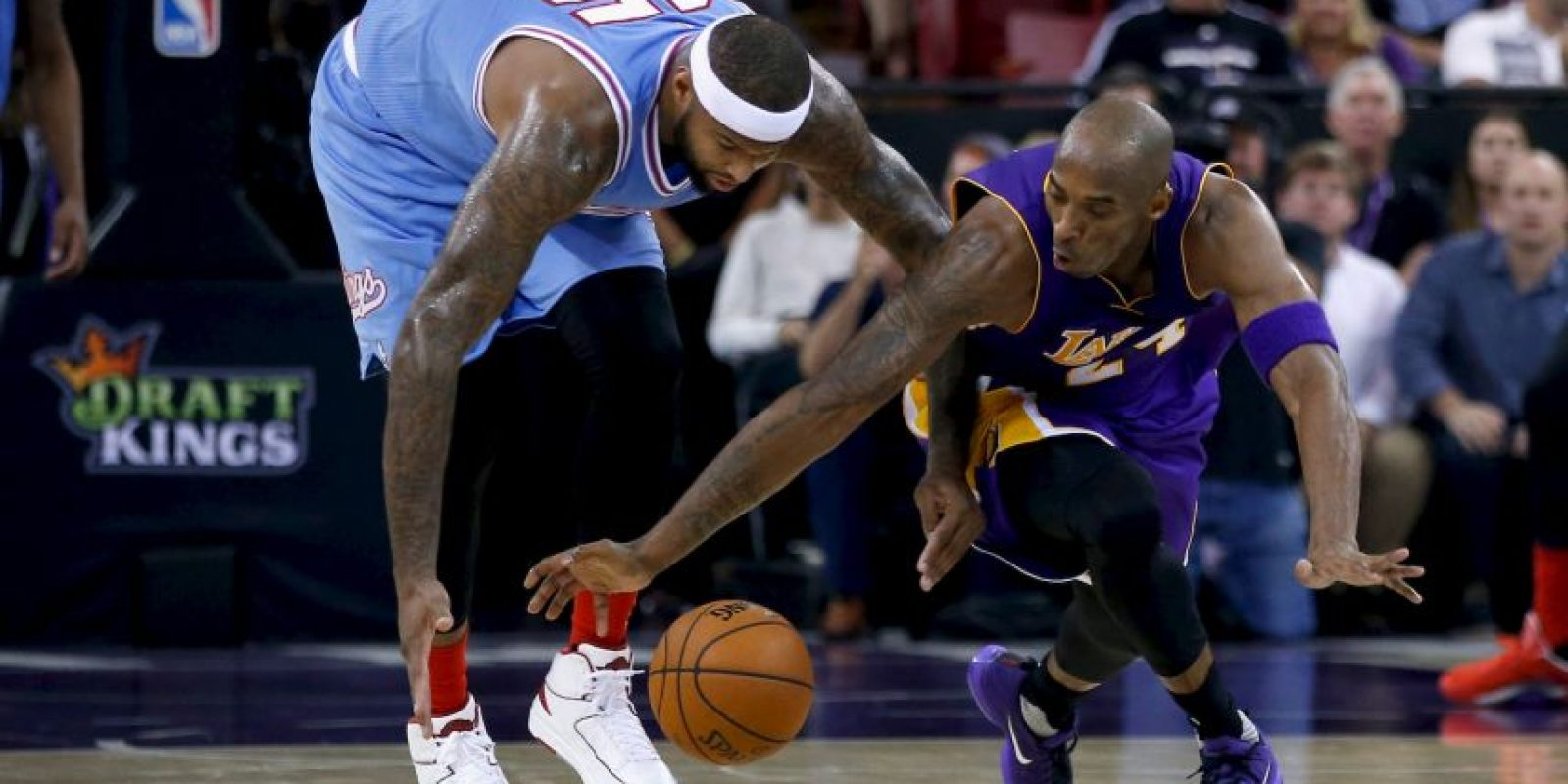 Es, junto con Tim Duncan, el basquetbolista en activo que tiene más anillos de campeón de la NBA Foto:Getty Images