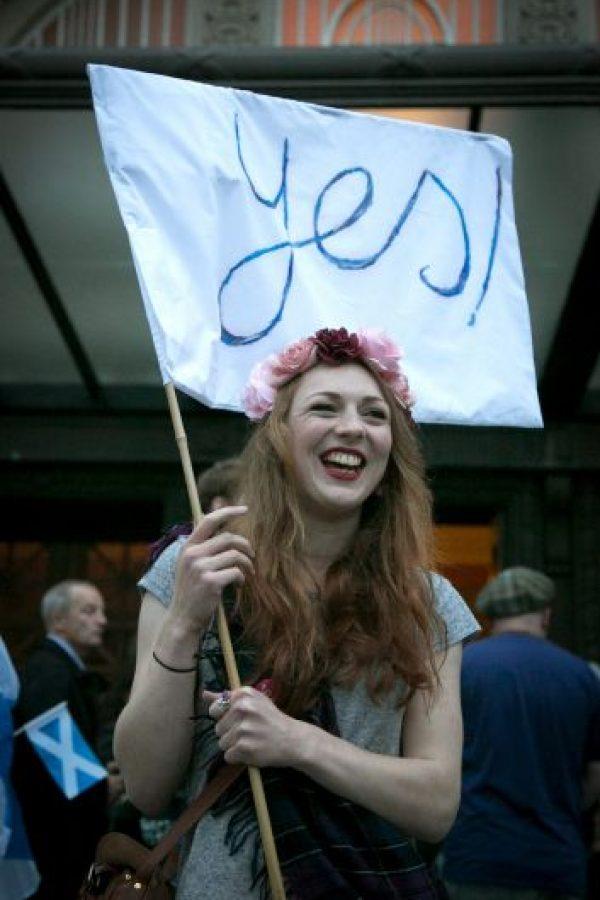 """Sin embargo, aunque se impuso el """"No"""", la Primera Ministra de Escocia, Nicolas Stugeon, afirmó que existe la posibilidad de convocar otro referéndum sobre la independencia escocesa. Foto: Getty Images"""