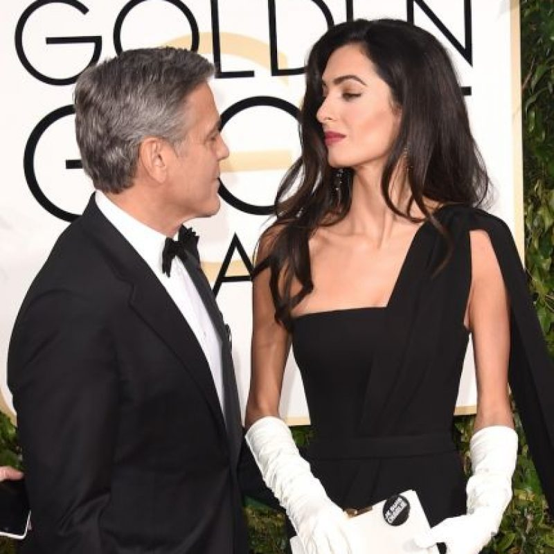 Amal Alamuddin, la esposa del actor George Clooney Foto:Getty Images