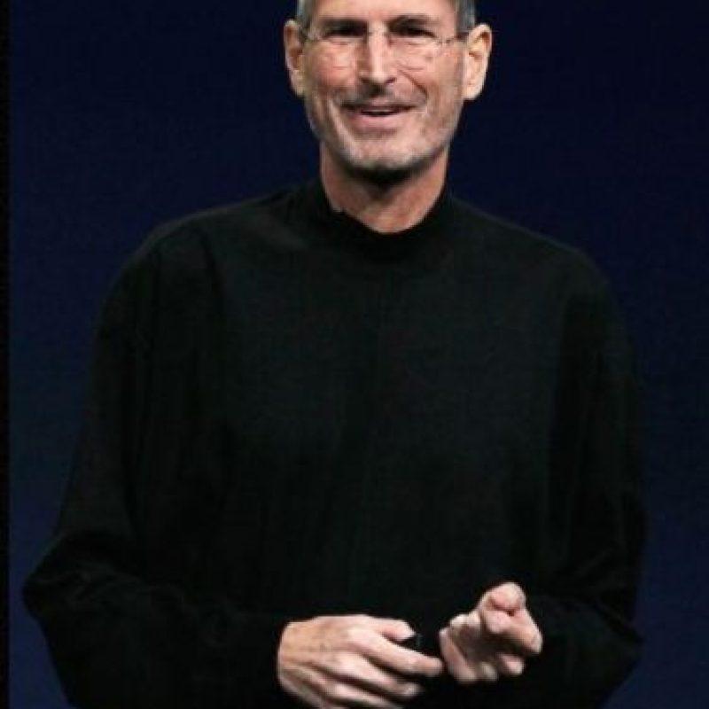 """Steve Jobs en un discurso en la Universidad de Stamford: """"Esto es para los locos. Los rebeldes. Los alborotadores. Los que ven las cosas de forma distinta. Mientras que algunos creen que son locos, nosotros los vemos como genios. Porque las personas que están lo suficientemente locas como para creer que cambiarán el mundo, son las que lo hacen"""". Foto:Getty Images"""
