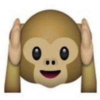 """Es uno de los tres monos sabios, parte de un proverbio budista, que en este caso es: """"No voy a escuchar el mal"""". Utilizado para: """"No quiero escuchar eso"""". Foto:Pinterest"""