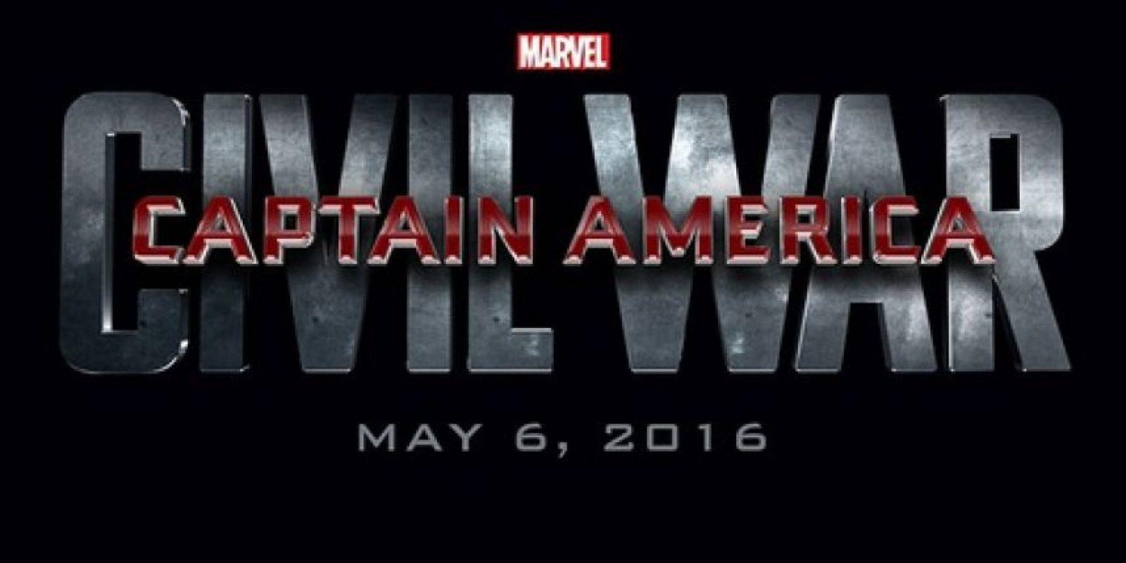 """Capitán América: Civil War"" – 6 de mayo de 2016 Foto:Disney"
