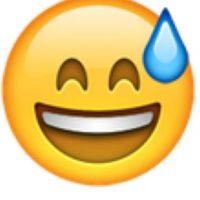 8- Gota en la cara en iOS. Foto:vía emojipedia.org