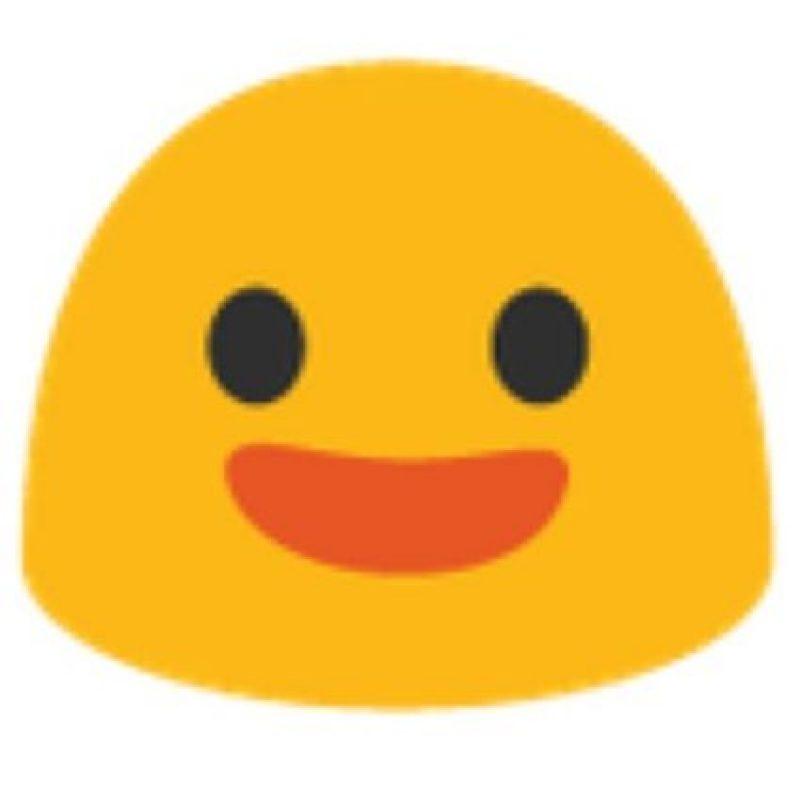 Sonrisa en Android. Foto:vía emojipedia.org