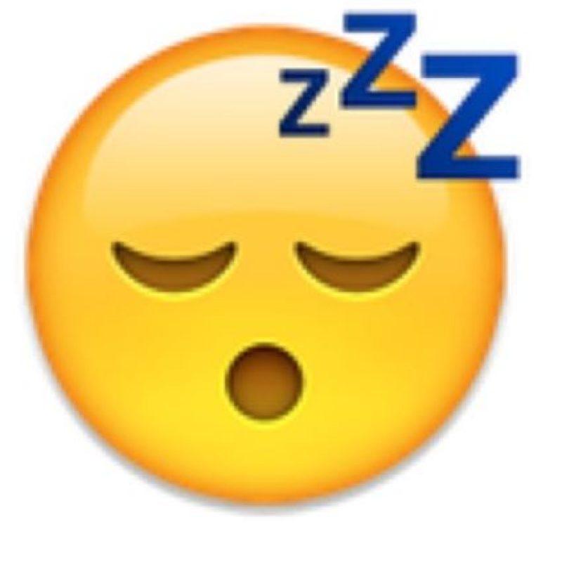 3- Sueño en iOS. Foto:vía emojipedia.org
