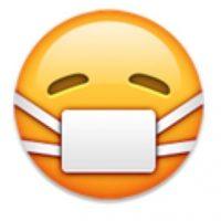 10- Enfermo en iOS. Foto:vía emojipedia.org