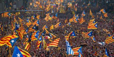 """En su artículo 2 habla de la """"indisoluble unidad de la Nación"""", por lo que es ilegal que Cataluña decida separarse de España Foto:Getty Images"""