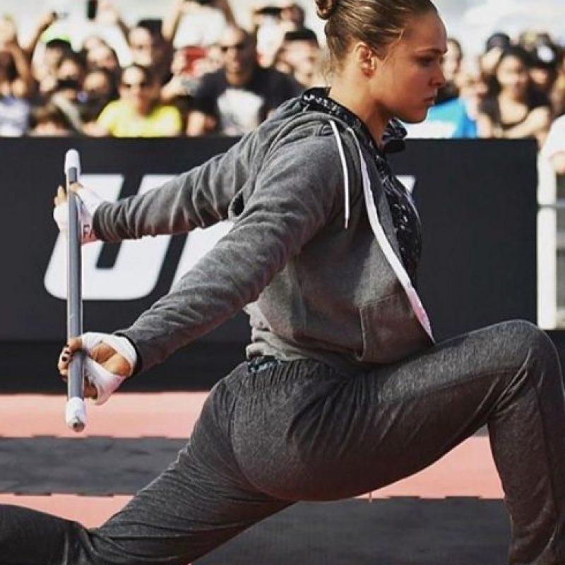 """En la función """"UFC 193"""" Foto:Vía instagram.com/rondarousey"""