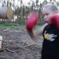 Y sorprendió con sus habilidades a Ronda Rousey Foto:Vía instagram.com/rondarousey