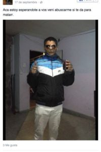 """De acuerdo con el periódico argentino """"Crónica"""", un joven con antecedentes penales fue asesinado de siete disparos en la ciudad de Rosario en Argentina. El sujeto anticipó en su cuenta de Facebook que lo buscaban para matarlo. Foto:Facebook/Pachu Reynoso"""