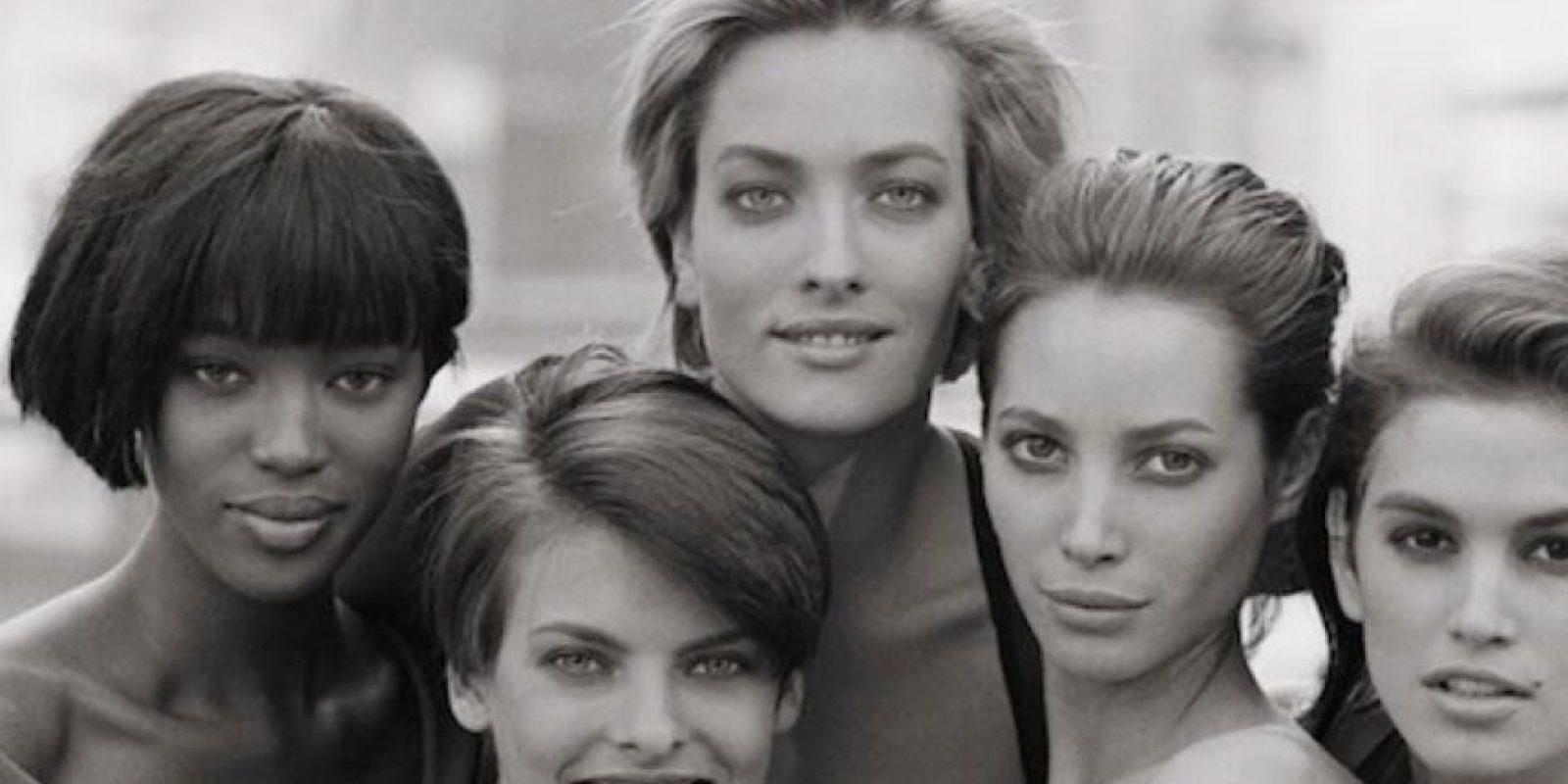 Modelos. Ya íconos de la cultura popular. Foto:vía Vogue