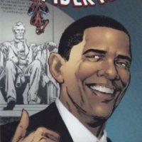 "Barack Obama salió en un cómic de ""Spiderman"". Foto:vía Marvel Cómics"