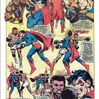 El cómic salió en los años 70. Luego de la paliza, el boxeador y Superman se alían. Foto:vía DC Cómics