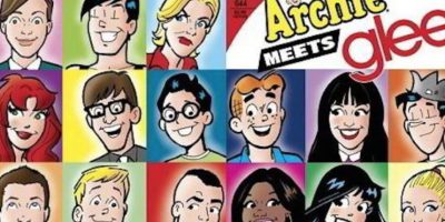 "Bonus track: Glee en ""Archie Cómics"". Foto:vía Dark Circle Cómics"