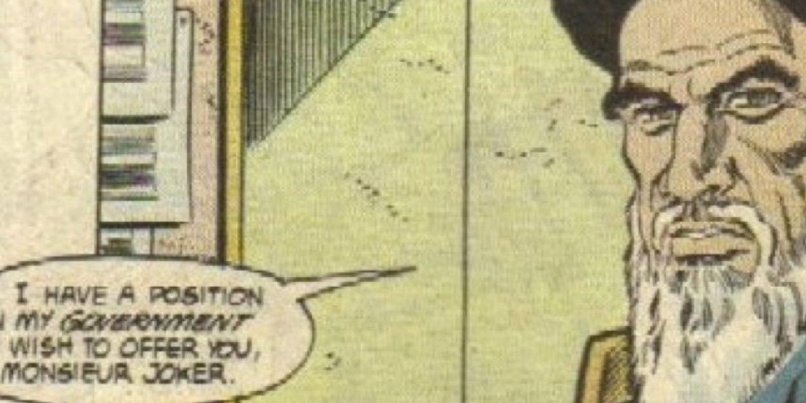 Principalmente, en el Ayatollah Jomeini. Foto:vía DC Cómics