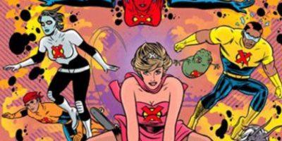 """Pertenecía al grupo de mutantes """"X-Tatix"""", compuesto originalmente por famosos. La trama original era que ella revivía de la muerte para luego convertirse en mutante y lucir este ridículo traje rosa. Foto:vía Marvel Cómics"""