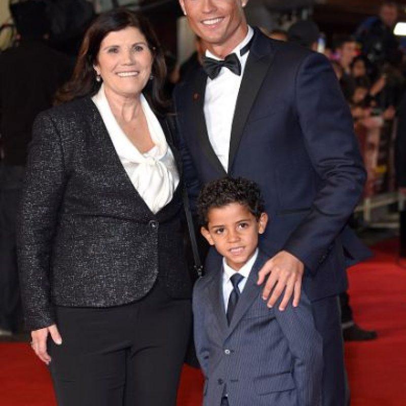 Su familia no podía faltar. Foto:Getty Images