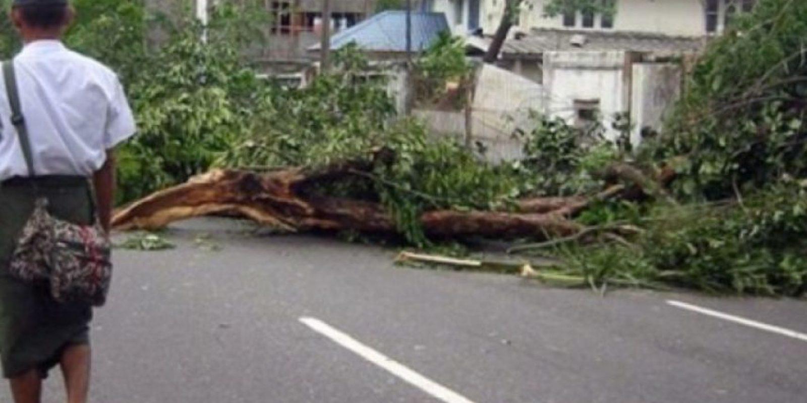 Ciclón Nargis (2008). Arrasó con Birmania matando a 138 mil personas. Los daños se estimaron en 10 mil millones de dólares Foto:Wikimedia Commons