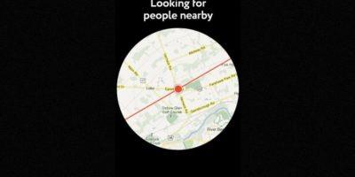 Buscará a quienes quieran conocerles dependiendo de su selfie y su ubicación Foto:GetPure.org