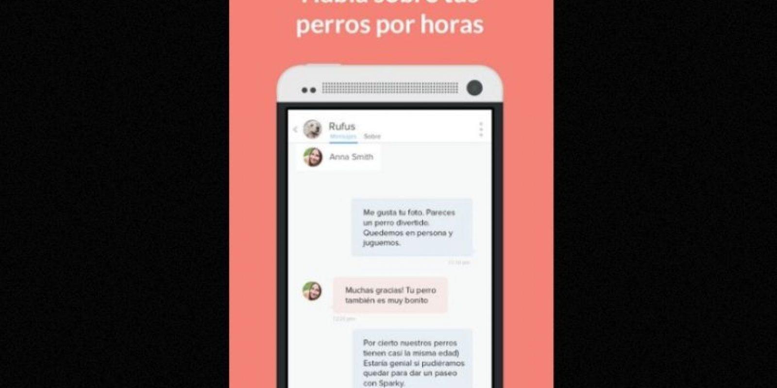 De acuerdo con su web oficial, la idea de esta nueva aplicación es que se pueda hacer una cita doble entre mascotas y personas, y al mismo tiempo acercar los amantes de los canes. Foto:Holidog