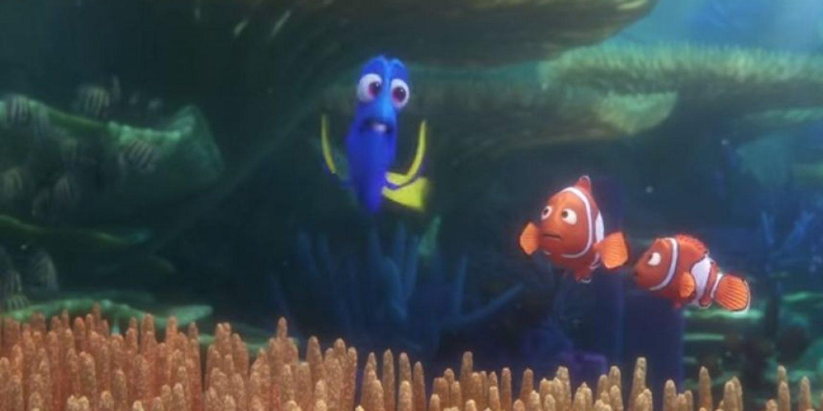 """""""Dory"""" es uno de los personajes más cómicos de esta historia. Foto:Disney"""