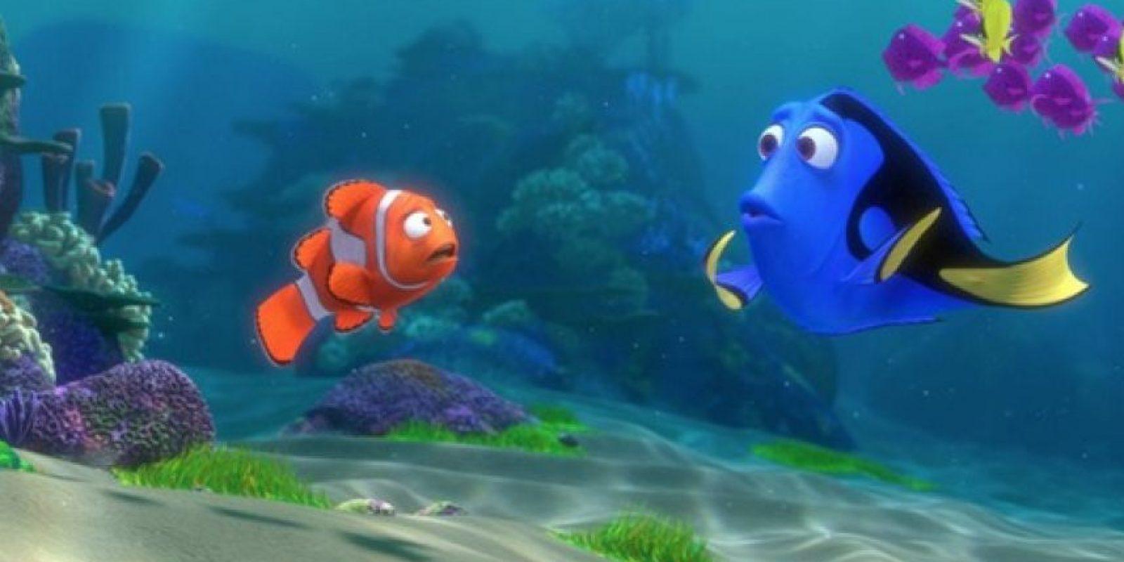 """La historia de """"Buscando a Dory"""" se plantea seis meses después de la primer película, con Dory viviendo tranquilamente con los peces payasos. Foto:Disney"""