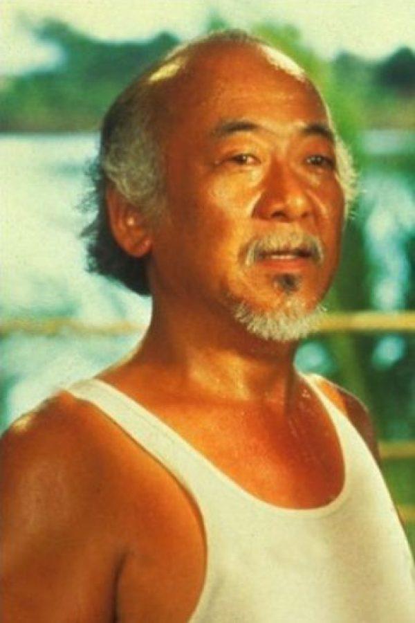 "15- ""El Señor Miyagi"" de ""Karate Kid"". Foto:IMDB"