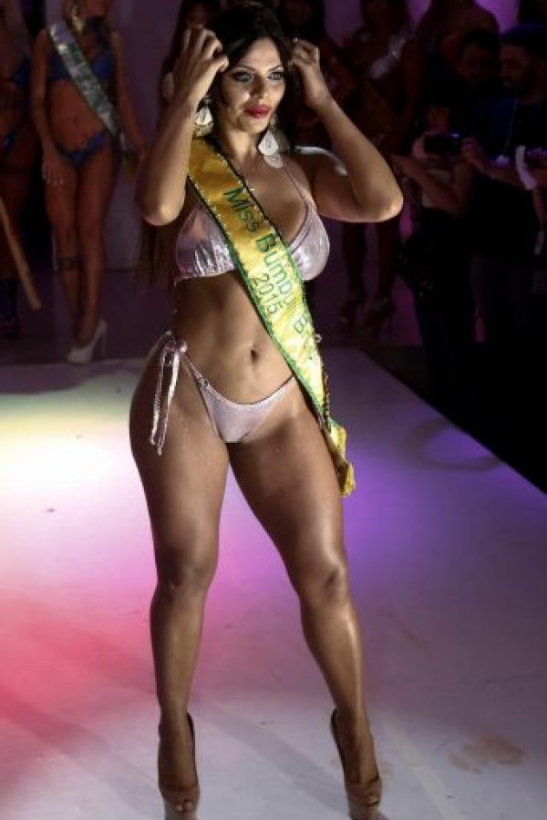 Tiene 25 años y fue elegida como Miss BumBum 2015. Foto:AFP