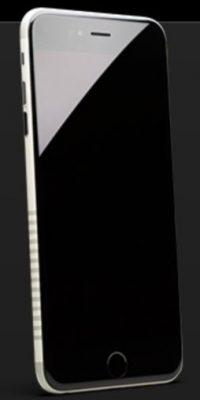 Se trata de un iPhone 6s modificado. Foto:vía colorware.com