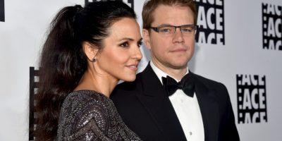 Matt Damon y Luciana Barroso se conocieron en Miami en el año 2003. Foto:Getty Images