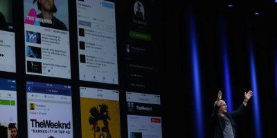 Jimmy Iovine fue el encargado de presentar la aplicación. Foto:Getty Images