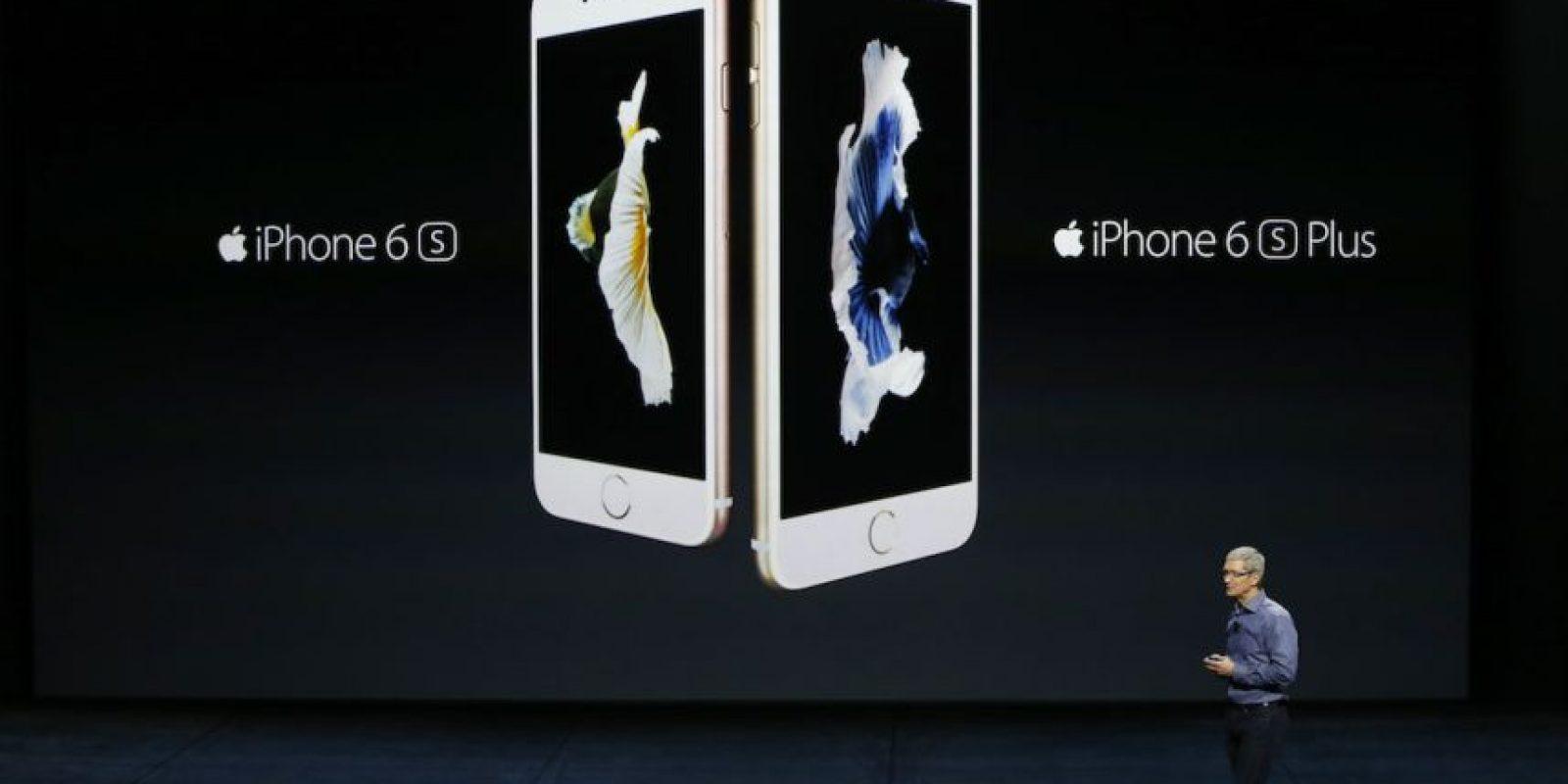 iPhone 6s y iPhone 6s fueron presentados en septiembre. Foto:Getty Images