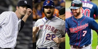 Corren los rumores sobre Andrew Miller, Daniel Murphy, Joe Mauer y Byung Ho Park en las Grandes Ligas