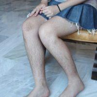 Y las piernas terminan por lucir así. Foto:Tumblr