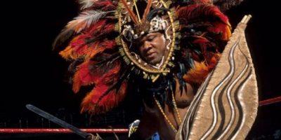 13. Tony Atlas / ¿Se podrá pelear con todo eso encima? Foto:WWE
