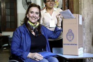 Además de que la victoria de Maria Elena Vidal como gobernadora de Buenos Aires fue una de las principales sorpresas. Foto:AFP