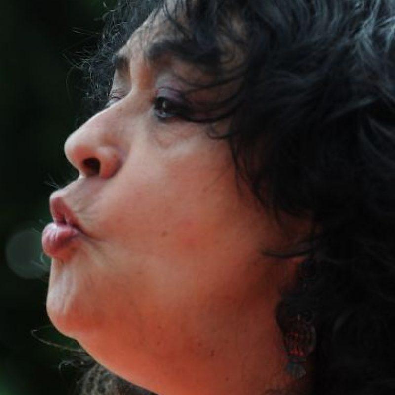 La mujer ha indicado que encontró la salvación en la escritura. Foto:AFP
