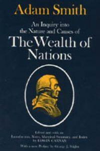 """""""La riqueza de las naciones"""" de Adam Smith Foto:Wikimedia.org"""