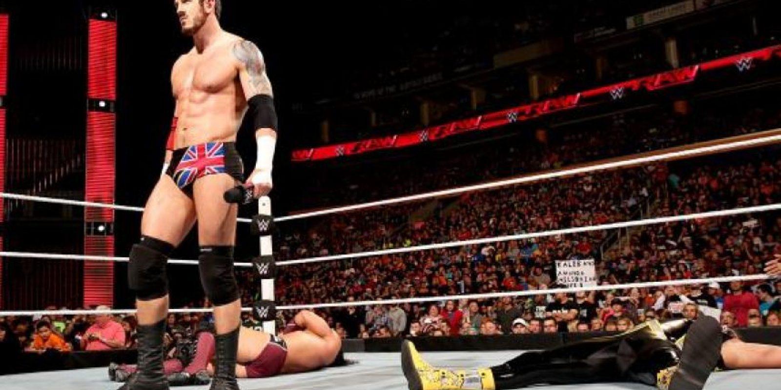 Ha sido cinco veces Campeón Intercontinental de la WWE. Foto:WWE