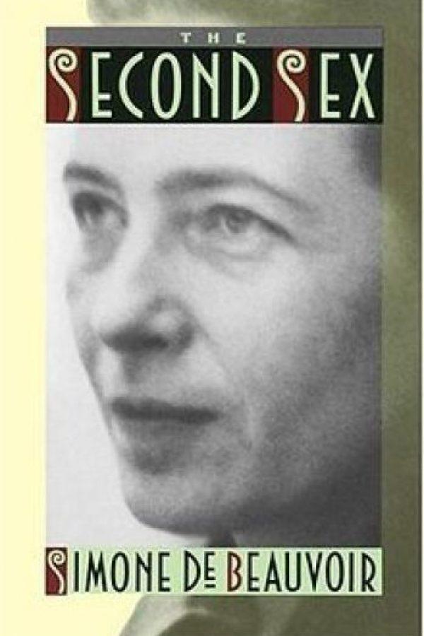 """El segundo sexo"" de Simone de Beauvoir Foto:Amazon.com"