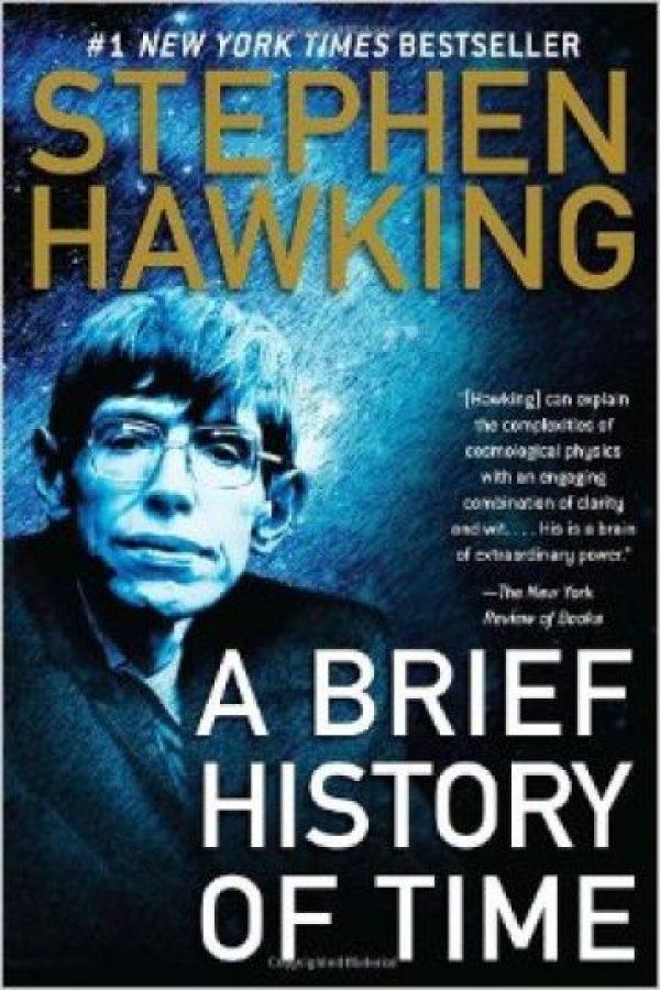 """Una breve historia del tiempo"" de Stephen Hawking Foto:Amazon.com"