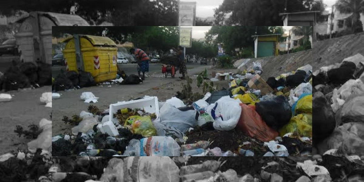 Cúmulo de basura y deterioro de calles preocupan a diversos sectores de Santiago