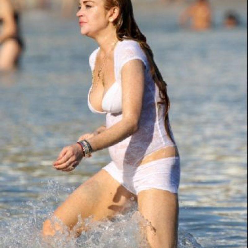 Lindsay Lohan en la vida real Foto:The Grosby Group