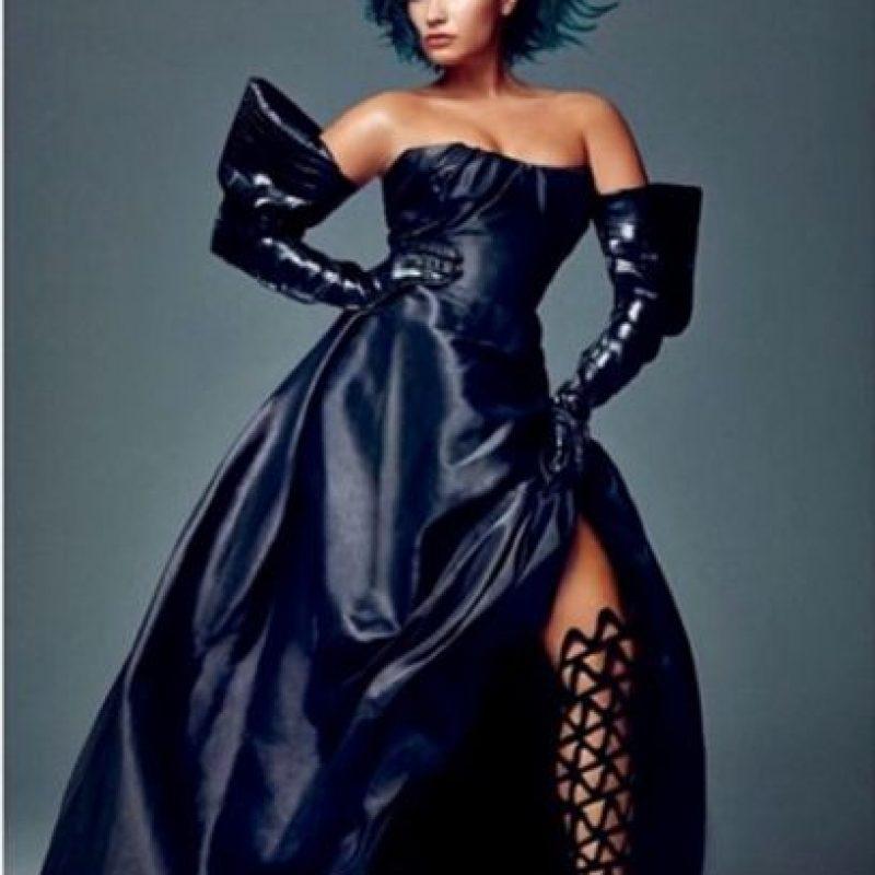 Demi Lovato con un maquillaje digital. Foto:vía instagram.com/demilovato